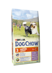 DOG CHOW MATURE ADULT 5+ Z JAGNIECINĄ