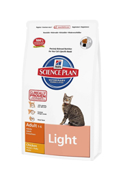 HILLS FELINE ADULT LIGHT