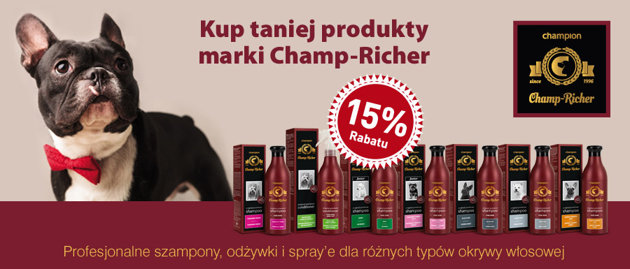 Szampony Champ-Richer -15proc
