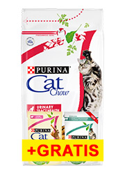 CAT CHOW ADULT SPECIAL CARE URINARY TRACT HEALTH + 2 saszetki gratis