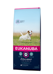 EUKANUBA ACTIVE ADULT SMALL KARMA DLA PSA