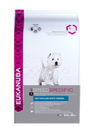 EUKANUBA BREED ADULT WEST HIGHLAND WHITE TERRIER