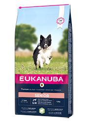 EUKANUBA MATURE / SENIOR SMALL / MEDIUM LAMB and RICE KARMA DLA PSA
