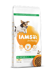IAMS FOR VITALITY ADULT SMALL / MEDIUM KARMA DLA PSA
