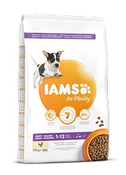 IAMS FOR VITALITY PUPPY SMALL / MEDIUM KARMA DLA SZCZENIĄT