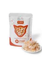BRIT CARE CAT POUCH CHICKEN & CHEESE