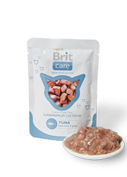 BRIT CARE CAT POUCH TUNA