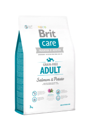 BRIT CARE GRAIN FREE ADULT SALMON & POTATO