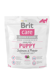 BRIT CARE GRAIN FREE PUPPY SALMON & POTATO