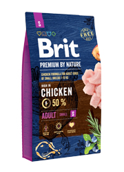 BRIT PREMIUM BY NATURE ADULT SMALL KARMA DLA PSA