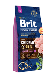 BRIT PREMIUM BY NATURE JUNIOR SMALL KARMA DLA SZCZENIAKA