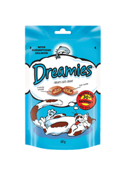 DREAMIES Z ŁOSOSIEM