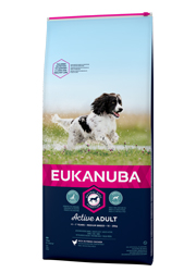 EUKANUBA ACTIVE ADULT MEDIUM BREED KARMA DLA PSA