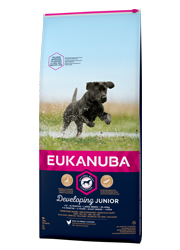 EUKANUBA DEVELOPING JUNIOR LARGE BREED KARMA DLA SZCZENIĄT