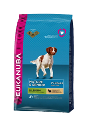 EUKANUBA MATURE / SENIOR LAMB and RICE