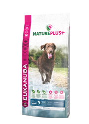EUKANUBA NATURE PLUS ADULT LARGE KARMA DLA PSA - z łososiem