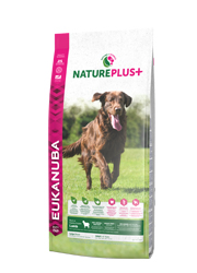 EUKANUBA NATURE PLUS ADULT LARGE KARMA DLA PSA - z jagnieciną
