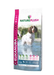 EUKANUBA NATURE PLUS ADULT MEDIUM KARMA DLA PSA - z łososiem