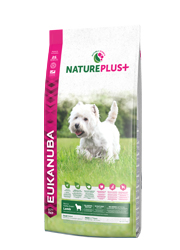 EUKANUBA NATURE PLUS ADULT SMALL KARMA DLA PSA - z jagnięciną