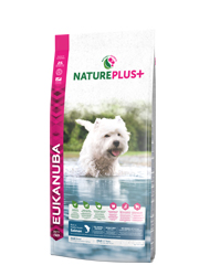 EUKANUBA NATURE PLUS ADULT SMALL KARMA DLA PSA - z łososiem