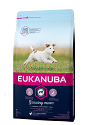 EUKANUBA GROWING PUPPY SMALL BREED KARMA DLA SZCZENIĄT