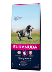 EUKANUBA CARING SENIOR MEDIUM BREED KARMA DLA PSA