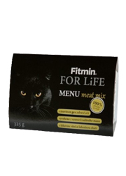 FITMIN CAT FOR LIFE MENU MEAT MIX MOKRA KARMA DLA KOTA