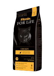 FITMIN CAT FOR LIFE ADULT CHICKEN KARMA DLA KOTÓW