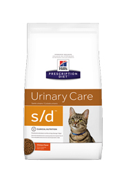 HILLS PRESCRIPTION DIET FELINE URINARY DISSOLUTION S/D