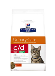 HILLS PRESCRIPTION DIET FELINE URINARY CARE C/D URINARY STRESS REDUCED CALORIE