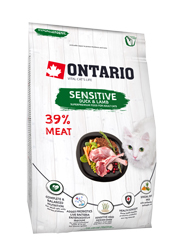 ONTARIO CAT SENSITIVE DERMA KARMA DLA KOTA