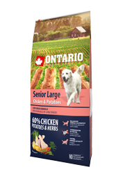 ONTARIO SENIOR LARGE CHICKEN and POTATO KARMA DLA PSÓW RAS DUŻYCH