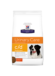 HILLS PRESCRIPTION DIET CANINE URINARY C/D MULTICARE SUCHA KARMA DLA PSA
