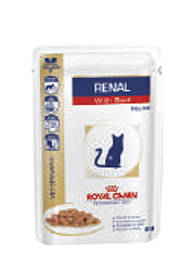 ROYAL CANIN VETERINARY FELINE RENAL z wołowiną