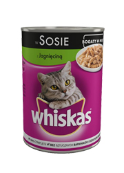 WHISKAS ADULT • JAGNIĘCINA •
