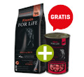 FITMIN DOG FOR LIFE ADULT BEEF/RICE 14kg +gratis