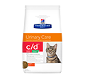 HILLS PRESCRIPTION DIET FELINE URINARY CARE C/D URINARY STRESS REDUCED CALORIE SUCHA KARMA DLA KOTA