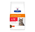 HILLS PRESCRIPTION DIET FELINE URINARY CARE C/D URINARY STRESS SUCHA KARMA DLA KOTA