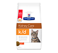 HILLS PRESCRIPTION DIET FELINE KIDNEY CARE K/D SUCHA KARMA DLA KOTA